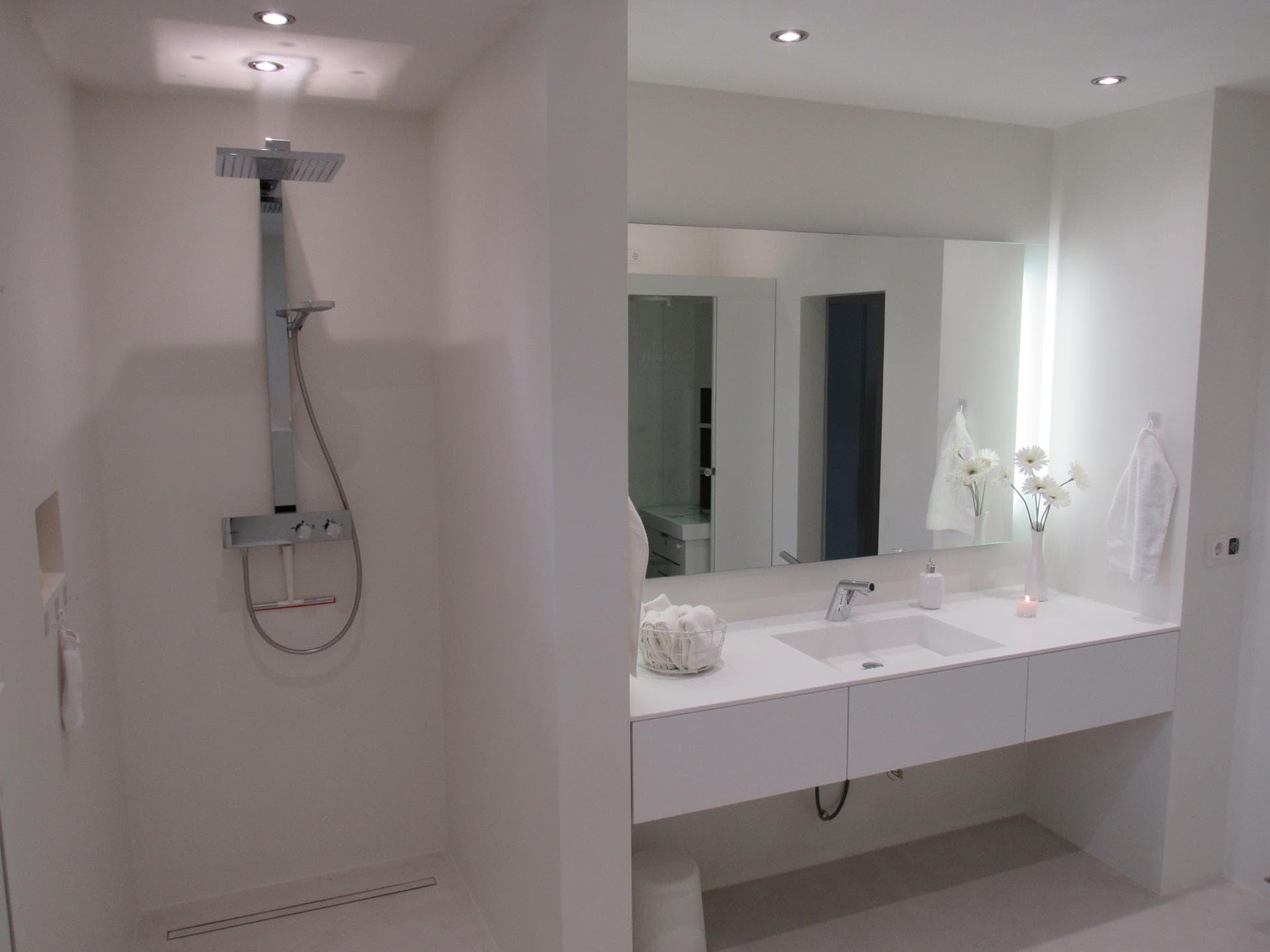 fugenlose badezimmer der gestaltungsmaler. Black Bedroom Furniture Sets. Home Design Ideas