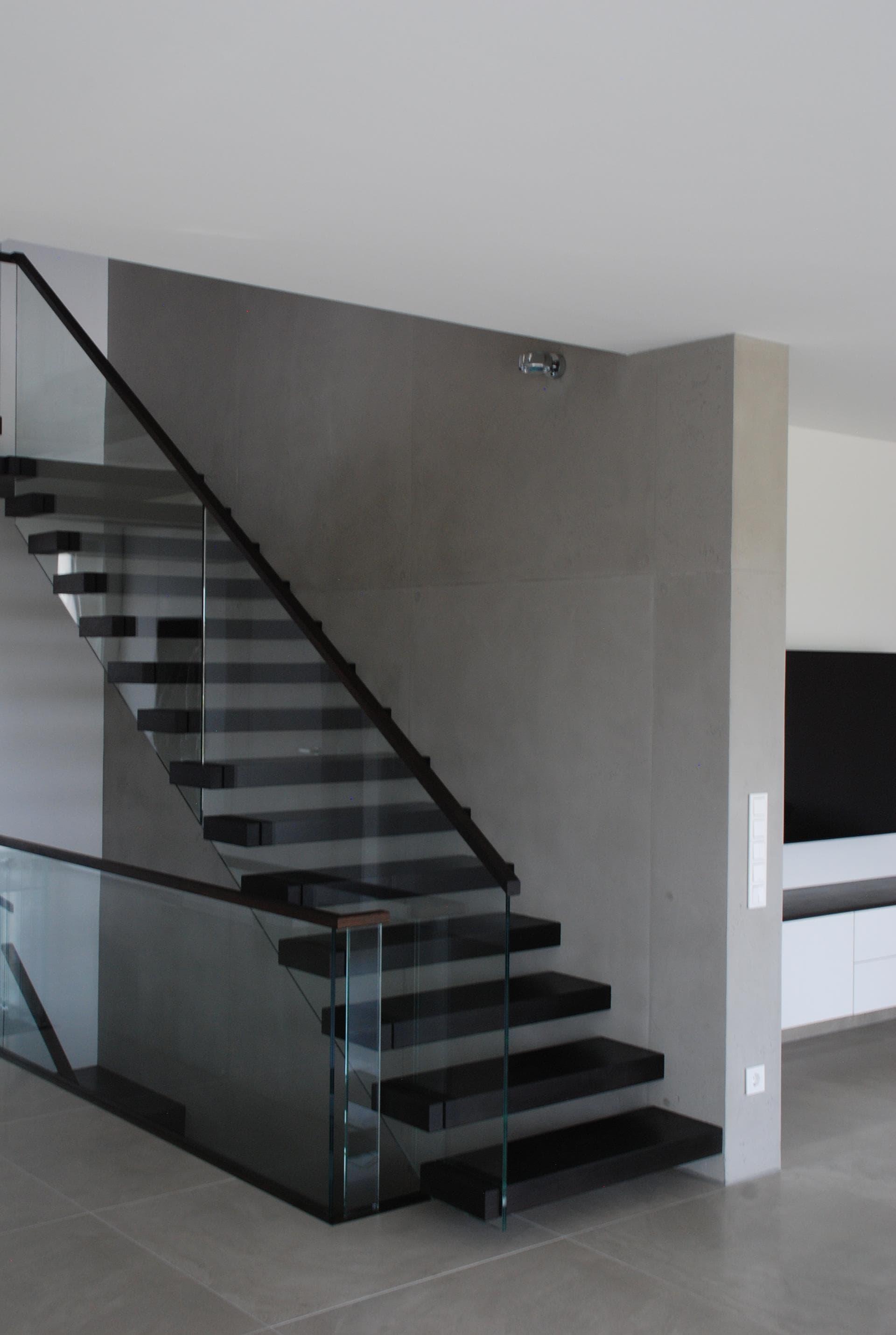 betonoptik als wandgestaltung der gestaltungsmaler. Black Bedroom Furniture Sets. Home Design Ideas