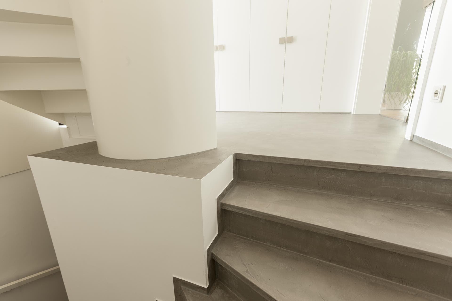 Wundervoll Fugenloser Fußboden Galerie Von Auch Die Sockelleisten Haben Wir Neu Gespachtelt
