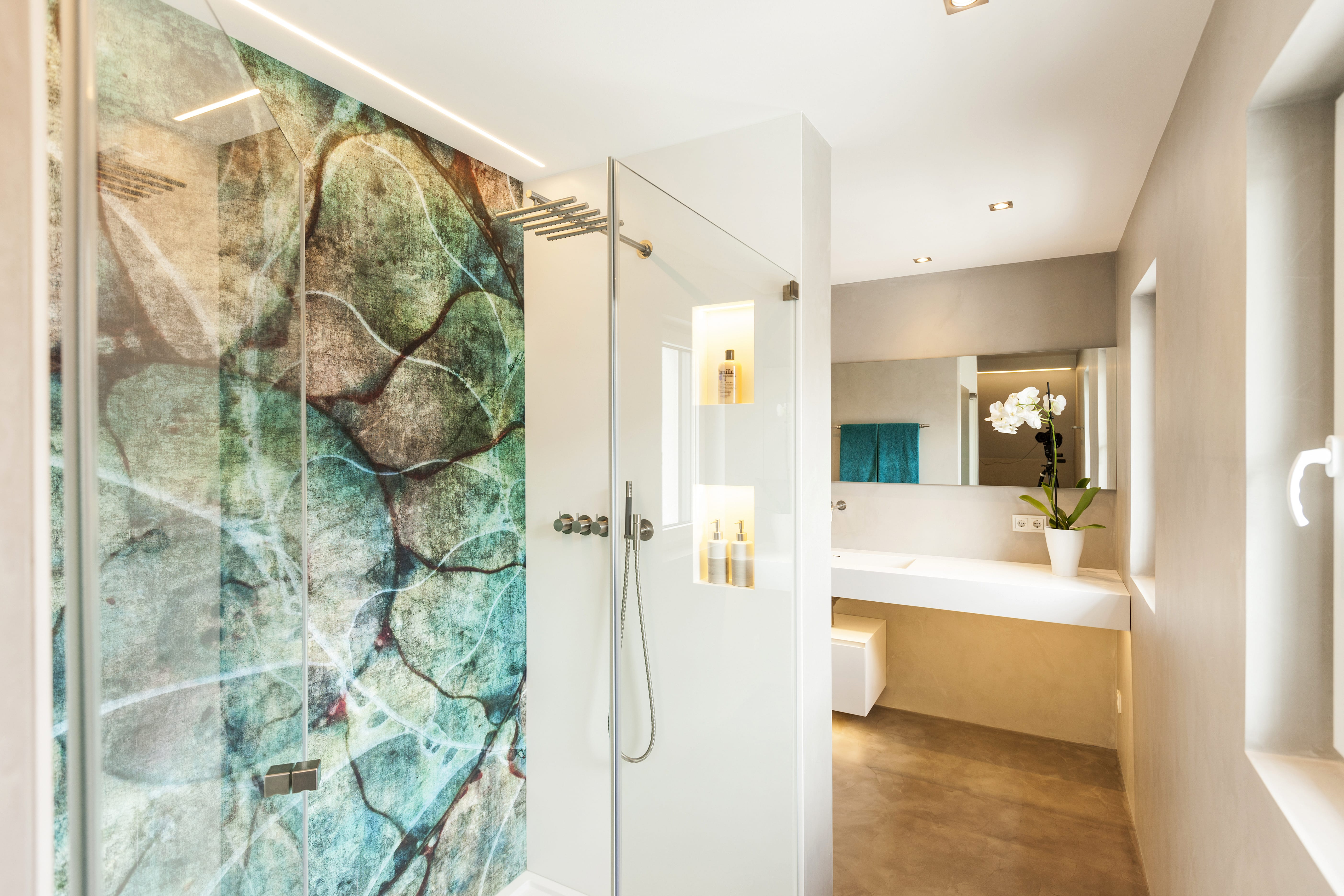 Bad ohne Fliesen - DER GESTALTUNGSMALER