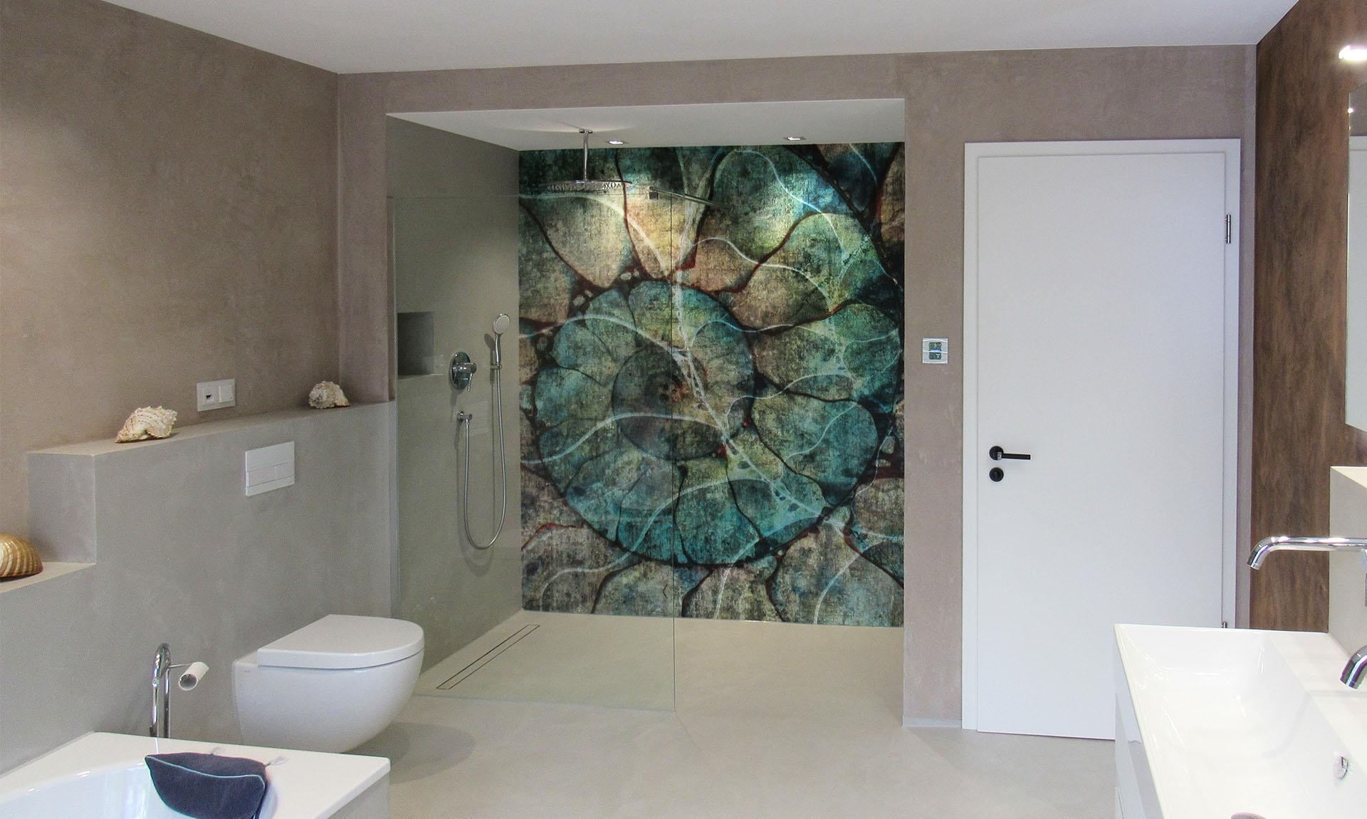 Badezimmer Tapeten von Glamora sind abwischbar und in vielen wunderschönen Motiven erhältlich